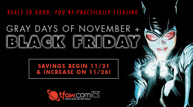 Black Friday Savings Begin Early at TFAW This Year