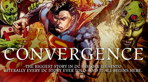 DC's Convergence ties into every DC story ever told--the two month event begins here