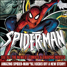 See the newest Spider-Man comics & graphic novels at TFAW