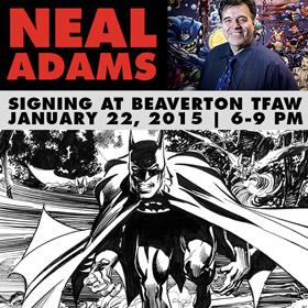 Neal Adams Signing at Beaverton TFAW 1/22/15!