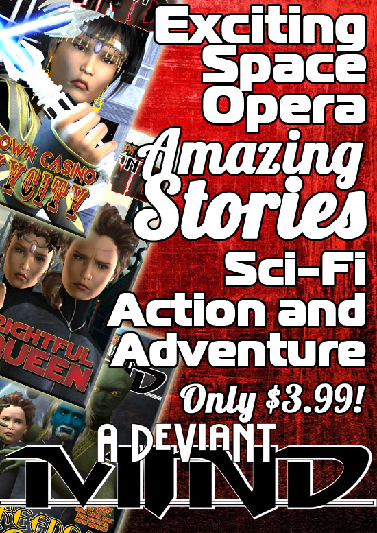 Sci Fi Space Opera Adventure!